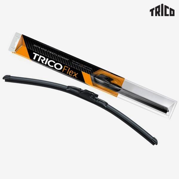 Щетки стеклоочистителя Trico Flex бескаркасные для Volkswagen Polo хэтчбек (2009-2017) № FX600+FX400