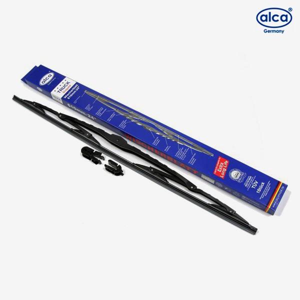 Щетки стеклоочистителя Alca Universal каркасные для Volvo S80 (1998-2003) № 184000+182000