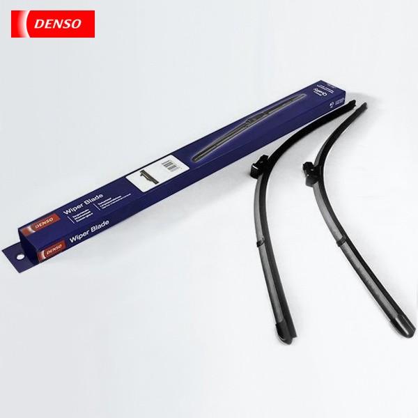 Щетки стеклоочистителя Denso бескаркасные для Volvo V50 универсал (2004-2006) № DF-140