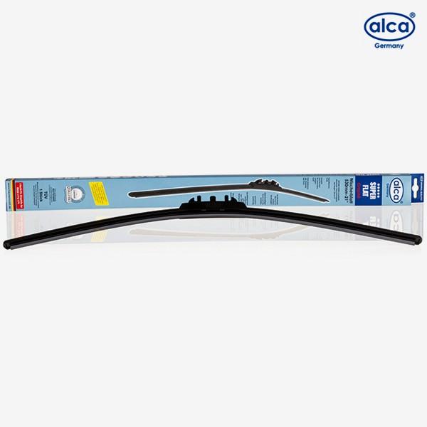 Щетки стеклоочистителя Alca Super Flat бескаркасные для Volvo V70 (2000-2004) № 054000+051000
