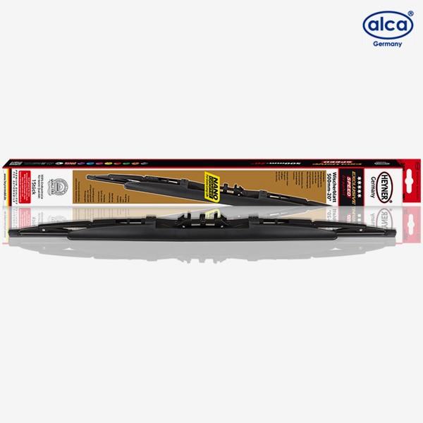 Щетки стеклоочистителя Alca Exclusive каркасные для Volvo V70 (2000-2004) № 164000+161000