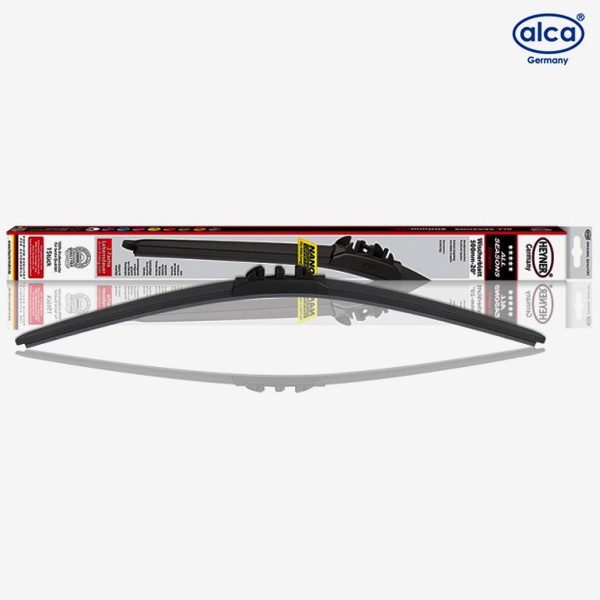 Щетки стеклоочистителя Alca All Seasons бескаркасные для Volvo XC90 (2004-2007) № 094000+092000+300310+300310