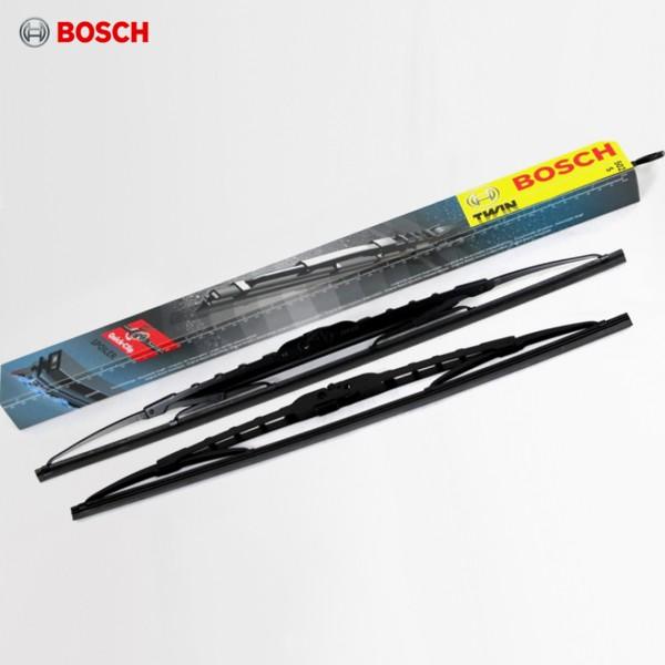 Щетки стеклоочистителя Bosch Twin каркасные для УАЗ Pickup (2008-2018) № 3397118400